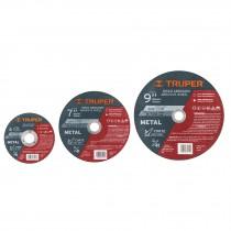 Discos abrasivos corte de metal, alta durabilidad