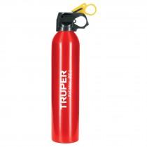 Extintor no recargable 450 g, polvo tipo ABC