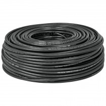 Cable THHW-LS, 8 AWG, color negro rollo 100 m