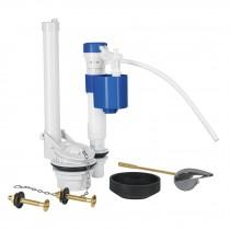 Juego de reparación p/WC, c/válvula de ajuste de altura