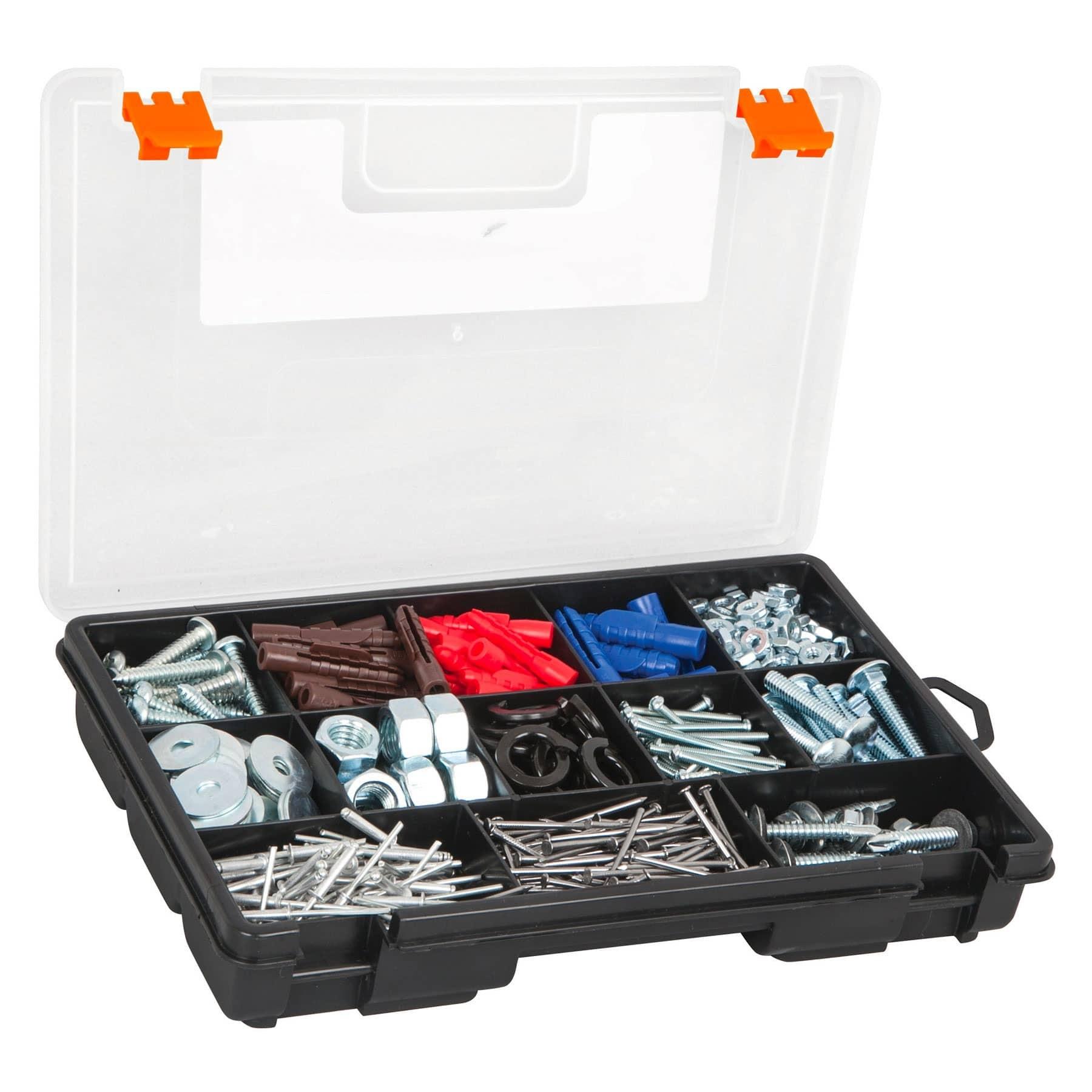 """Organizador 10"""" con 13 compartimentos"""