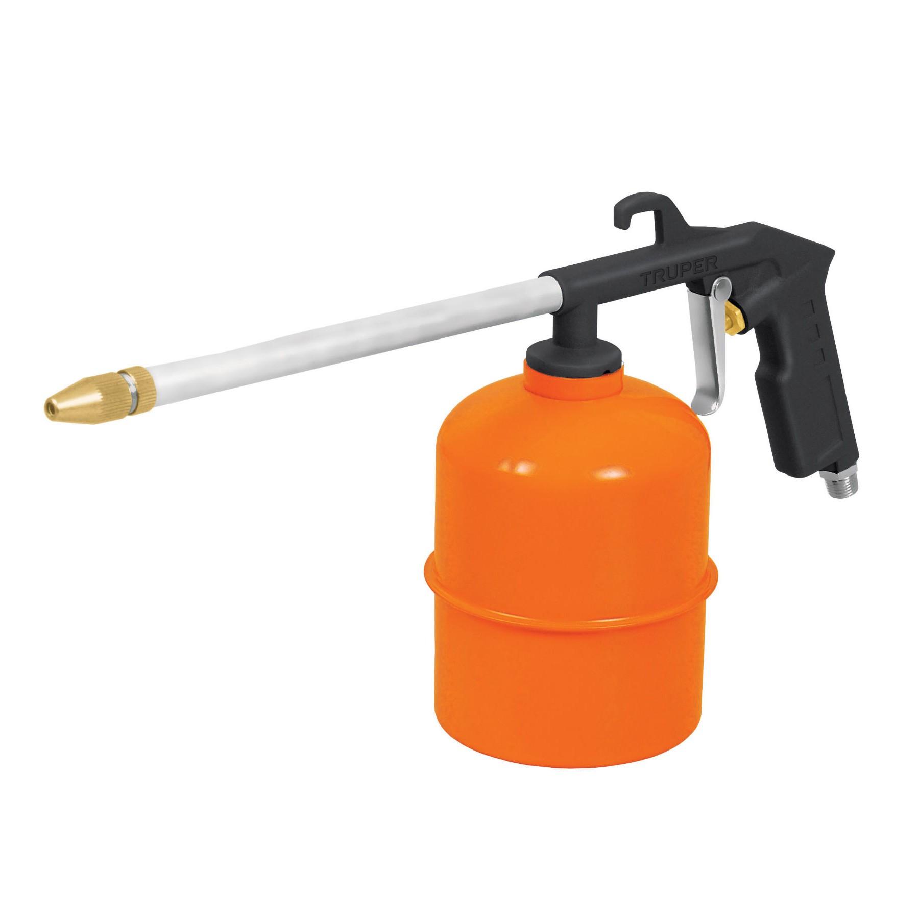 Pistola para limpieza de motores