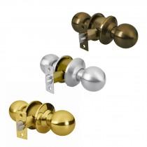 Cerraduras de pomo tipo esfera, mecanismo cilíndrico, para entrada
