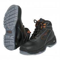Zapatos industriales dieléctricos, negros