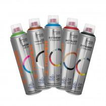 Pinturas en aerosol, colores metálicos, 400 ml