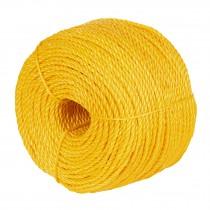 Metro de cuerda amarilla de 4mm en rollo de 126m