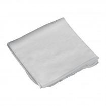 Franela blanca de algodón, 1 m