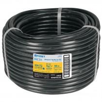 """Manguera flexible negra, PVC, 3/8"""", 300 PSI, sin conexión, 50m"""