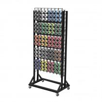 Rack para 120 pinturas en aerosol