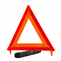 Triángulo de segurida, plegable, de plástico, 43.5 cm