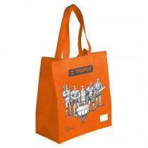 Bolsa ecológica naranja, 30 x 40 cm