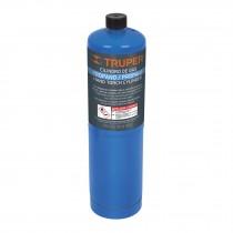 Cilindro de gas propano de 400 g, azul