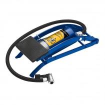 Bomba de pedal para inflar, 58 PSI, Pretul