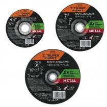 Discos abrasivos corte de metal, máxima durabilidad