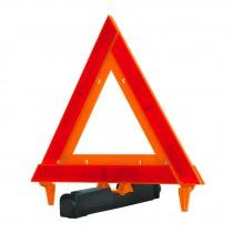 Triángulo de seguridad, de plástico, 29 cm