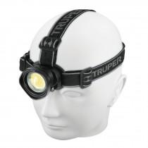 Linterna de minero, 400 lúmenes, 1 LED, 3 pilas AAA