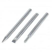 Puntas de repuesto para cautín tipo lápiz CAU-80, 3 piezas
