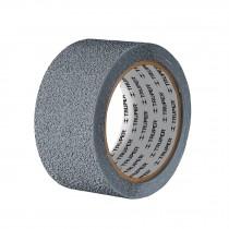 """Cinta antiderrapante de polímero, rollo 2"""" x 5 m, gris"""