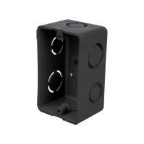 "Caja tipo chalupa 4x2"", de plástico, Volteck"
