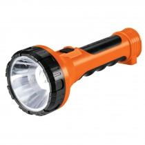 Linterna recargable de LED, 200 lúmenes