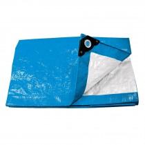 Lonas 110 g/m2, azules, espesor 0.14 mm, Pretul