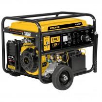 Generador eléctrico con motor a gasolina, 8,000W, Pretul
