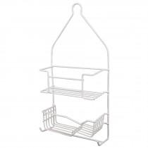 Canastilla para regadera, doble, rectangular