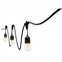 Series de 12 luces, con lámparas incandescentes