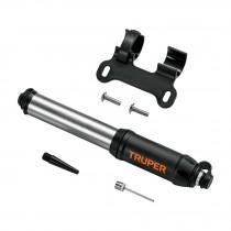 Mini bomba manual para bicicleta, abatible, 75 PSI