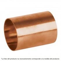 "Cople de cobre sin ranura,1/2"", Basic"