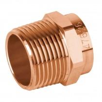 """Conector de cobre, rosca exterior, 3/4"""", Basic"""