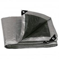 Lonas reforzadas grises, 180g/m2, espesor de 0.25 mm