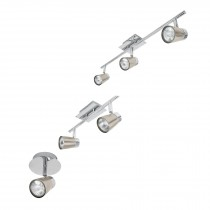 Luminarios con spots de sobreponer, línea Bari