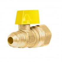 Válvula de control para gas de latón