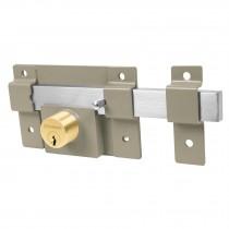 Cerradura de barra libre con 2 llaves estándar