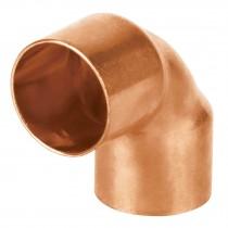 """Codo de cobre 90°, 3/4"""", Basic"""