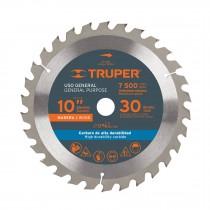 """Disco sierras diámetro 10"""", centro de 5/8"""", para madera"""