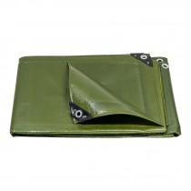 Lonas uso rudo, verde olivo, 240 g/m2, espesor de 0.40 mm
