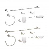 Juegos de 6 accesorios para baño