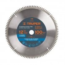 """Disco sierras diámetro 12"""", centro de 1"""", para aluminio"""