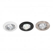 Luminarios empotrables, spot dirigible (lámpara no incluida)