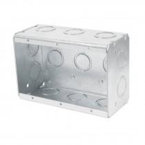 "Caja tipo chalupa, 4x6"", rectangular, reforzada, Volteck"