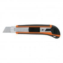 Cutter con grip, cuchilla de 25 mm