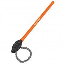 Llave de cadena tipo caimán 710 mm, uso pesado