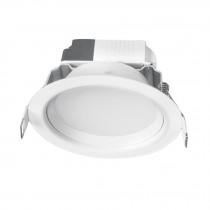Luminario LED empotrado redondo 5 W, luz cálida