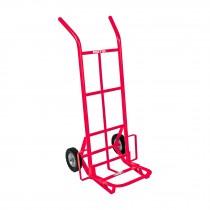 Diablo de carga de 200 kg, ruedas sólidas, balero sencillo