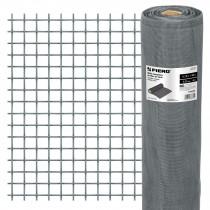 Mallas mosquiteras de fibra de vidrio grises, 30 m