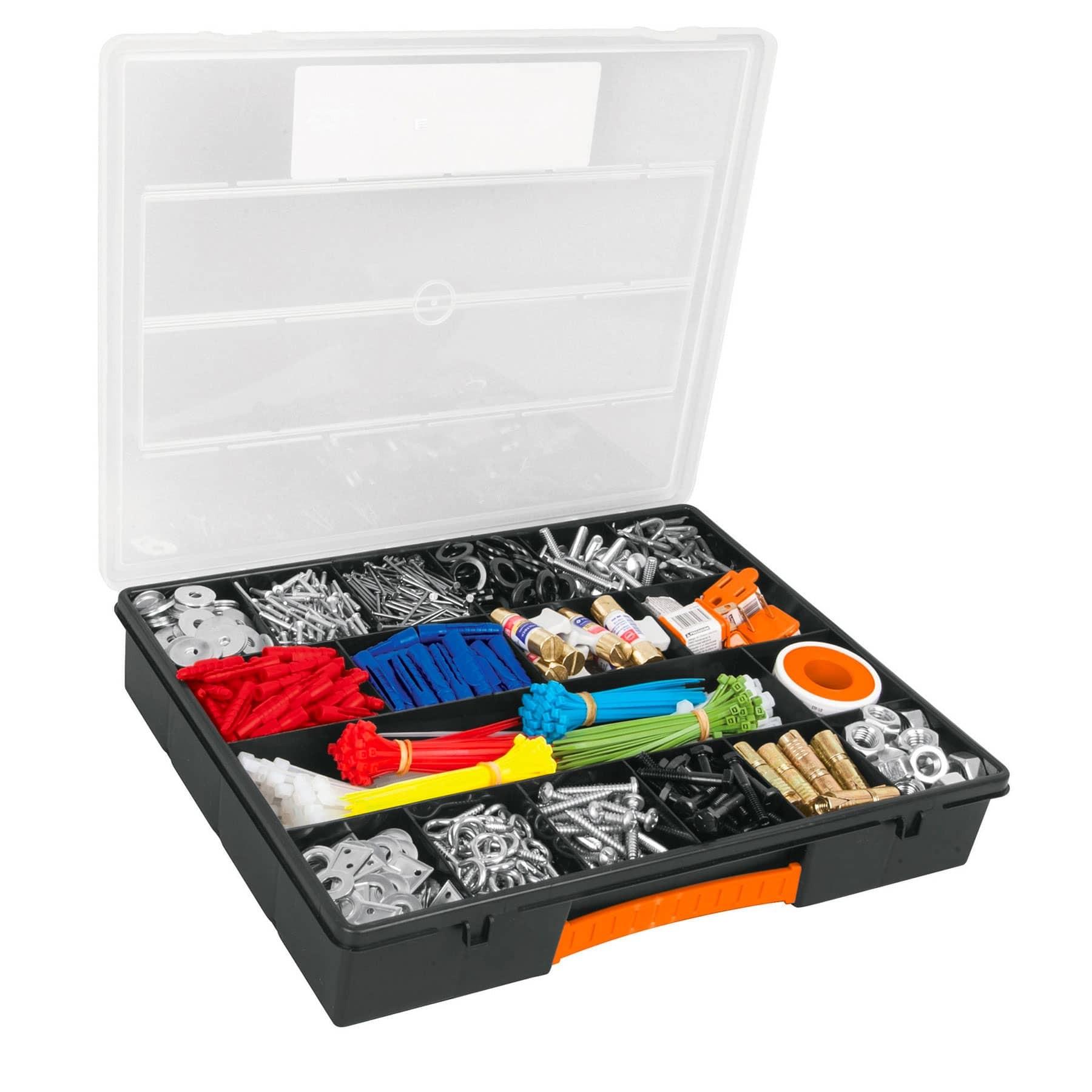 """Organizador 14"""" con 18 compartimentos"""