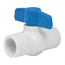 Válvulas de esfera de PVC, para cementar