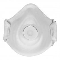 Respirador N95 con válvula para polvos y partículas, 1 pieza